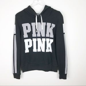 Victoria's Secret PINK | Black Hooded Sweatshirt